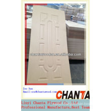 hdf door skin linyi factory with cheaper price
